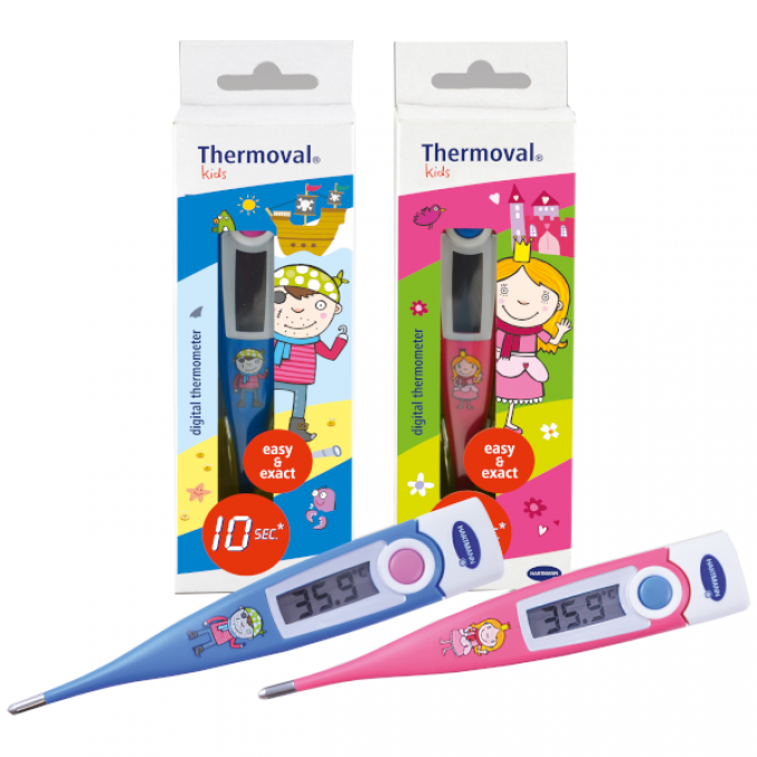 Termometru digital Hartmann, raspuns in 10 s - Thermoval Kids 1