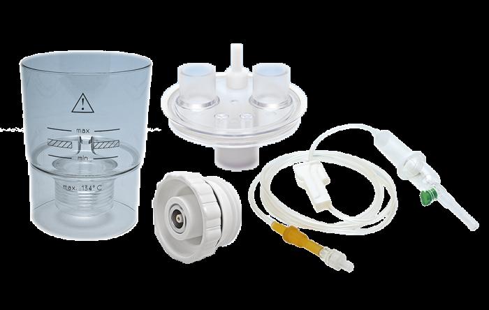 Vas de nebulizare, modul ultrasonic transducer si capac alimentare continua - UltraNeb 0