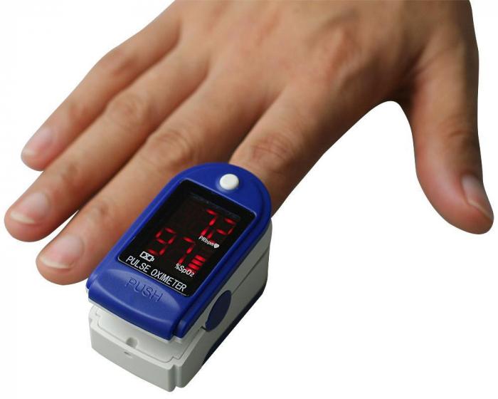 Pulsoximetru Contec CMS50DL, display LED [1]