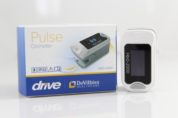 Pulsoximetru HbO-2000 (OLED display, SpO2, PR, PI & Plethysmogram, Pulse Bar) [1]