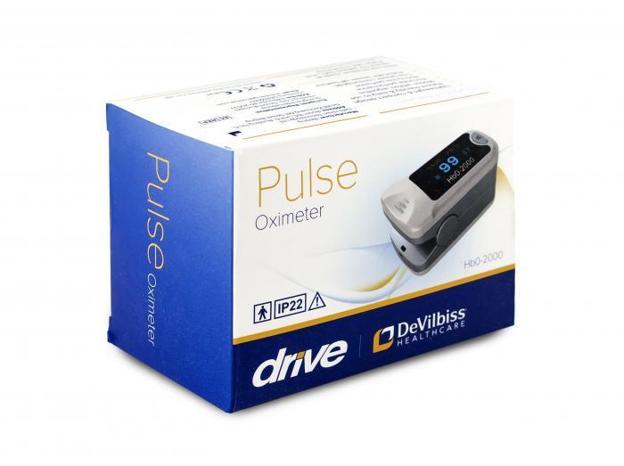 Pulsoximetru HbO-2000 (OLED display, SpO2, PR, PI & Plethysmogram, Pulse Bar) [3]