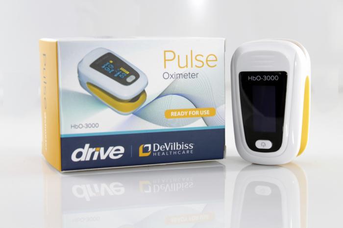 Pulsoximetru HbO-3000 (OLED display, SpO2, PR, PI & Plethysmogram, Pulse Bar) 1