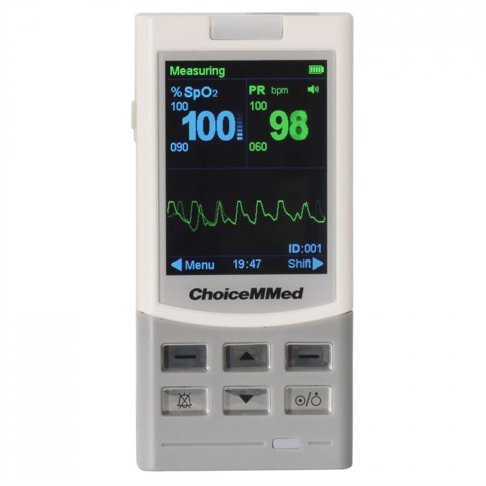 Pulsoximetru profesional MD300M, cu senzor pentru deget, adult [0]