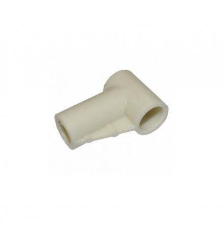 Conector la 90° pt. vas colector autoclavabil 1200 ml la aspirator secretii VacuAide QSU0