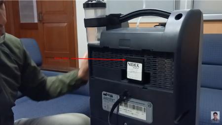 Filtru HEPA - concentrator oxigen Nuvo Lite Mark 5 [3]