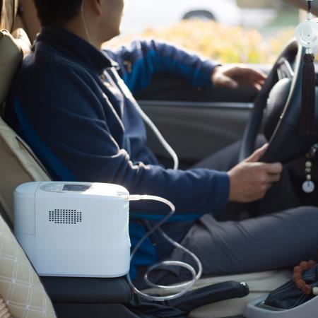 Inchiriere Concentrator Oxigen portabil Kingon P20