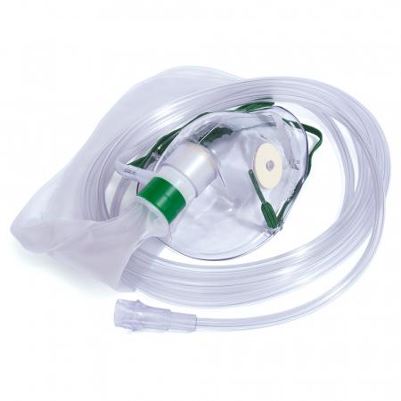Masca oxigen, Adult, 2.1 m, Concentratie inalta, Rezervor, o supapa [0]