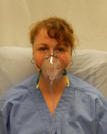 Masca oxigen, Adult, 2.1 m, Concentratie medie - Hudson RCI3
