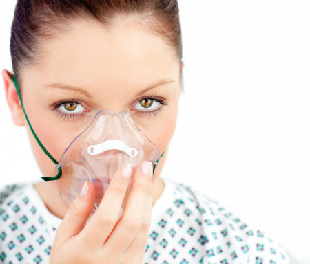 Masca oxigen, Adult, 2.1 m, Concentratie medie1