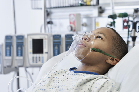 Masca oxigen, Pediatrica (2 - 11 ani), 2.1 m, Concentratie medie [2]