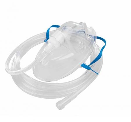 Masca oxigen, Adult, 2.1 m, Concentratie medie, fara ftalați - HUM0