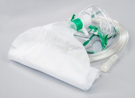 Masca oxigen, Adult, 2.1 m, Concentratie inalta, Rezervor, 2 supape - HUM [2]