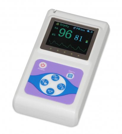 Pulsoximetru profesional Contec CMS60D, senzor reglabil pt. adult, copil sau nou nascut0