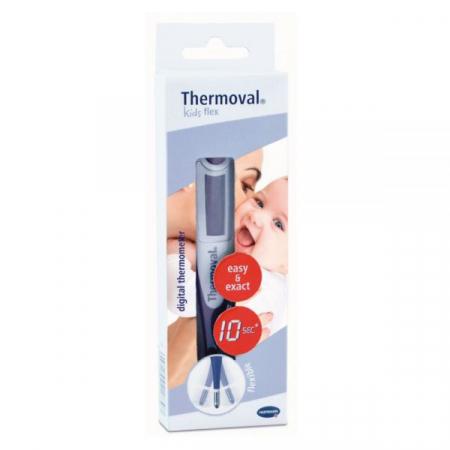 Termometru digital Hartmann, cap flexibil, raspuns in 10 s - Thermoval Kids Flex1