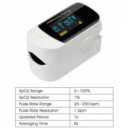 Pulsoximetru BiPPEX, display OLED [11]