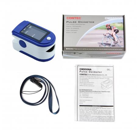 Pulsoximetru Contec CMS50DL, display LED [2]