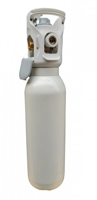 Butelie/tub oxigen medical aluminiu 3 litri cu reductor Integrat Medivital [5]