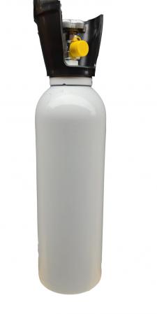 Set/kit complet oxigenoterapie 5 litri aluminiu (butelie 5L + reductor + vas umidificator + masca) [1]