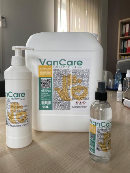 VAN CARE HAND PROTECT - Dezinfectant de uz medical  pentru dezinfectia igienica a mainilor  prin frecare 1
