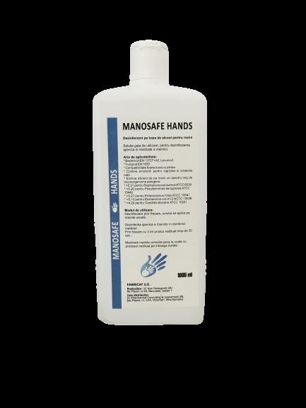 MANOSAFE HANDS - DEZINFECTANT PE BAZA DE ALCOOL PENTRU MAINII 0