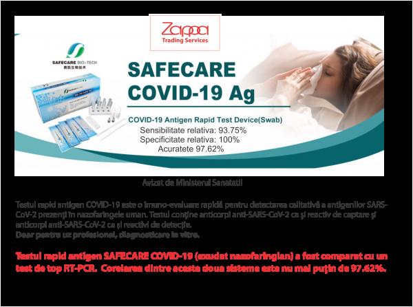 Teste rapide antigen SAFECARE 0