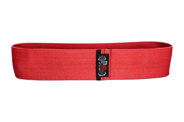 Banda elastica bumbac rosie 0