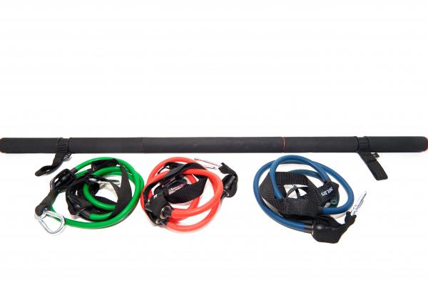 Bara portabila cu corzi elastice 0