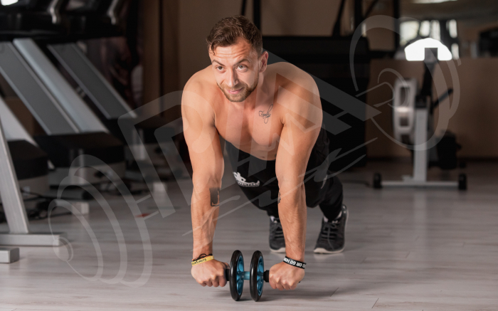 Roata Fitness pentru abdomen [5]