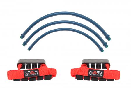 Set extensor piept cu 3 tuburi ALBASTRU0