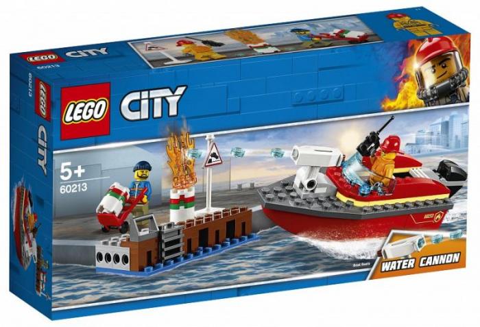 Lego City- Incendiul de la docuri 1