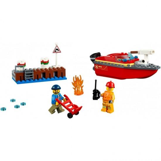Lego City- Incendiul de la docuri 3