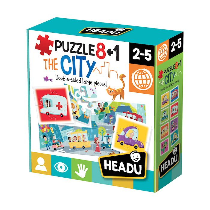 Puzzle 8+ 1 Oras, Headu [0]