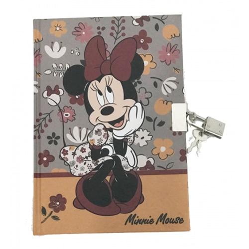 Agendacu lacat si cheie cu model Minnie [0]