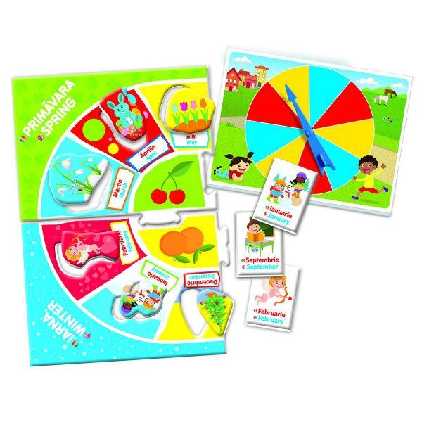 Joc Educativ - Invata Lunile Si Anotimpurile 1