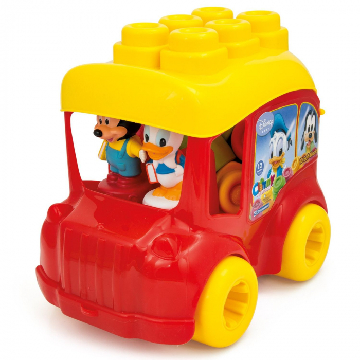 Autobuz Mickey Cu Cuburi 0