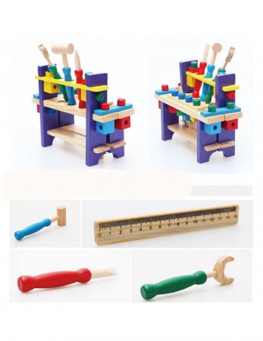 Banc de lucru din lemn pentru copii 1