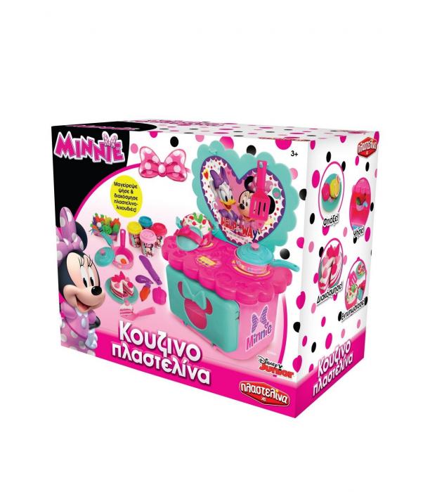 Set Bucataria Cu Plastilina Art Greco Minnie Mouse [0]