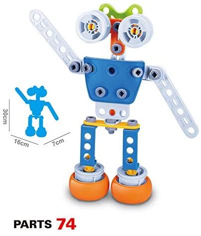 Set de constructie Robotul, 59 piese 7