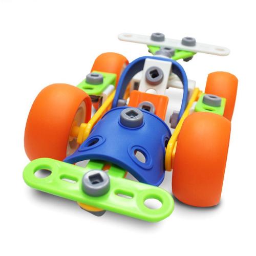 Set de constructie masina de curse, 57 piese [5]