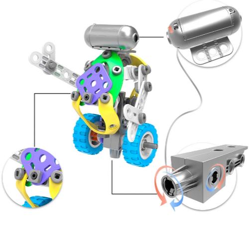 Set de constructie 5 in 1 motorizat [2]