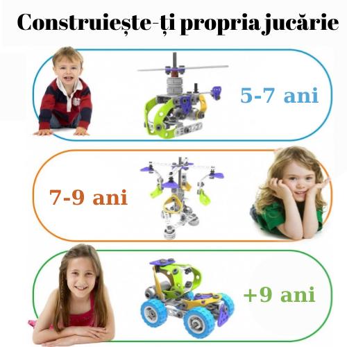 Set de constructie 5 in 1 motorizat [4]