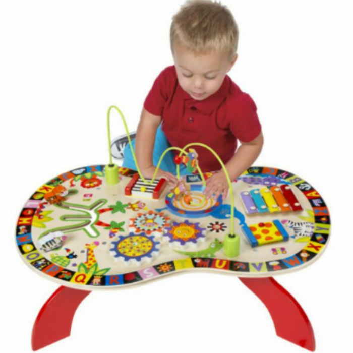 Busy Table - Masuta interactiva cu activitati pentru copii 0