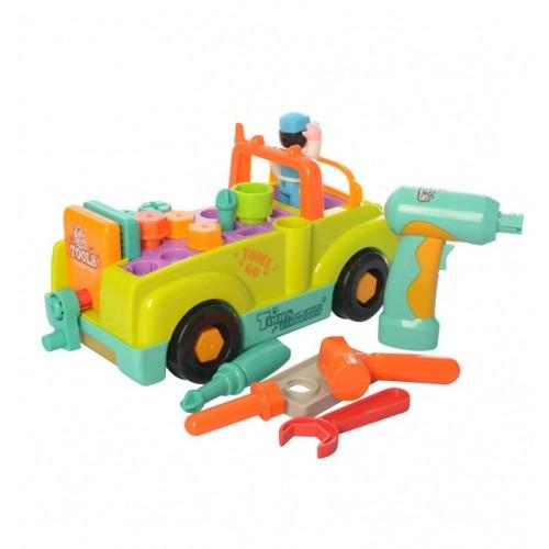 Camionul plin cu scule al micului mecanic cu lumini si sunete [2]