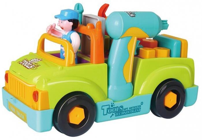 Camionul plin cu scule al micului mecanic cu lumini si sunete [1]