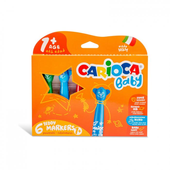 Carioca Baby 1+ Varf scurt si rotund 0