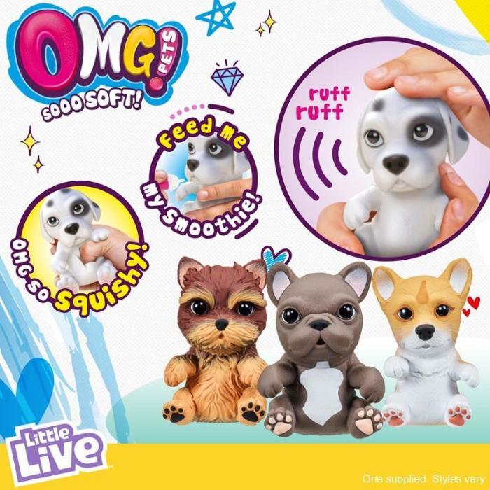 Catelus Interactiv OMG Pets - Yorkie Yorkshire Terrier 5