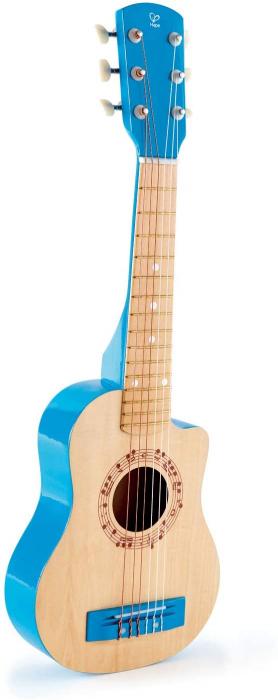 Chitara albastra vibranta, Hape [1]