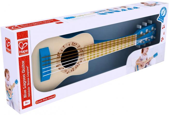 Chitara albastra vibranta, Hape [0]