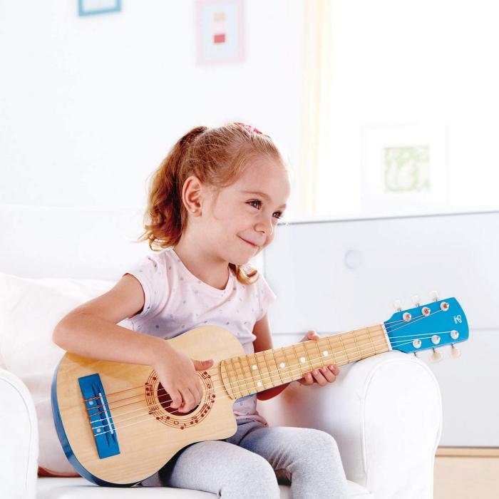 Chitara albastra vibranta, Hape [2]
