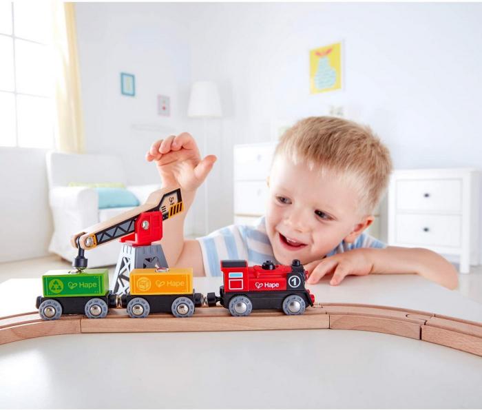 Hape Tren livrare marfa [2]